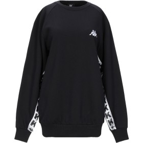 《セール開催中》KAPPA KONTROLL レディース スウェットシャツ ブラック XS コットン 100%