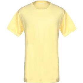 《9/20まで! 限定セール開催中》LIU JO MAN メンズ T シャツ イエロー 3XL コットン 95% / ポリウレタン 5%