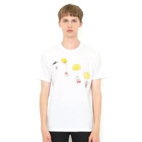 【グラニフ:トップス】Tシャツ/パラシュート(ぞうのババール)