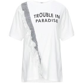 《期間限定セール開催中!》BRIGITTE BARDOT レディース T シャツ ホワイト M/L コットン 100%