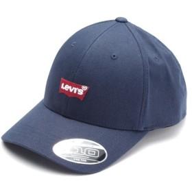 リーバイス バットウィングロゴキャップ ネイビー メンズ BLUES OS- 【Levi's】