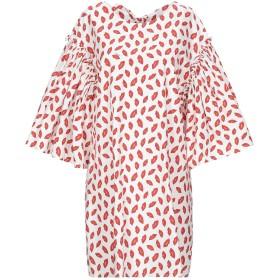 《セール開催中》P.A.R.O.S.H. レディース ミニワンピース&ドレス ホワイト S コットン 100%