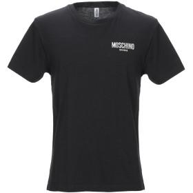 《期間限定 セール開催中》MOSCHINO メンズ T シャツ ブラック XS コットン 100%