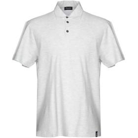 《期間限定 セール開催中》DRUMOHR メンズ ポロシャツ ライトグレー XL 100% コットン