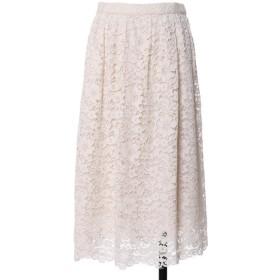 【10%OFF】 エフデ 《Maglie White》デイジーレースギャザースカート レディース ホワイト 09 【ef-de】 【タイムセール開催中】