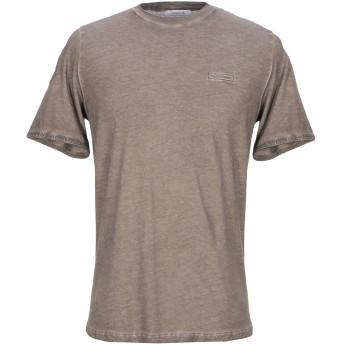《セール開催中》HAMAKI-HO メンズ T シャツ カーキ M コットン 100%