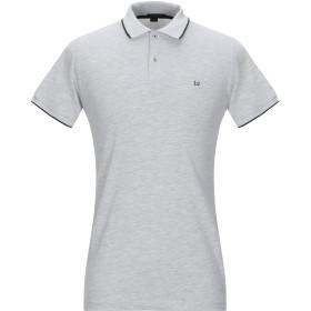《期間限定 セール開催中》LIU JO MAN メンズ ポロシャツ ライトグレー M コットン 95% / ポリウレタン 5%