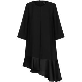 《セール開催中》CARLA by ROZARANCIO レディース ミニワンピース&ドレス ブラック 38 ポリエステル 100%