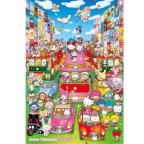1000ピース ジグソーパズル サンリオキャラクターズ パレード 49x72cm[31-407](49×72cm)