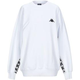 《セール開催中》KAPPA KONTROLL レディース スウェットシャツ ホワイト XS コットン 100%