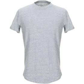 《期間限定セール開催中!》MAJESTIC FILATURES メンズ T シャツ ライトグレー M コットン 100%