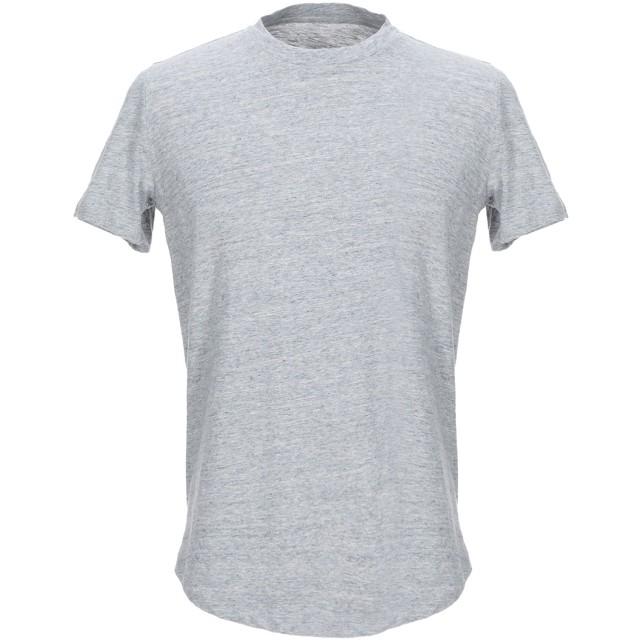《セール開催中》MAJESTIC FILATURES メンズ T シャツ ライトグレー M コットン 100%
