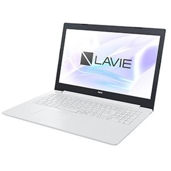 NEC 15.6型ノートパソコン PC-NS70CMAW カームホワイト