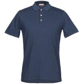 《期間限定セール開催中!》ALTEA メンズ ポロシャツ ダークブルー M コットン 100%