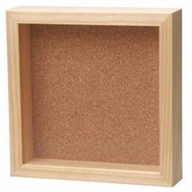 VANJOH フォトフレーム CUBE Frame1717 壁掛け専用[CF-1717NL](ナチュラル, 外寸:17×17×3.8cm、内寸:15.4)