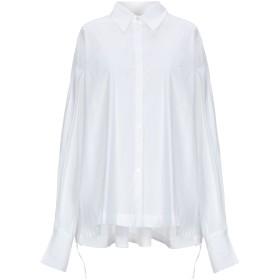 《セール開催中》LIVIANA CONTI レディース シャツ ホワイト S コットン 68% / ナイロン 28% / ポリウレタン 4%