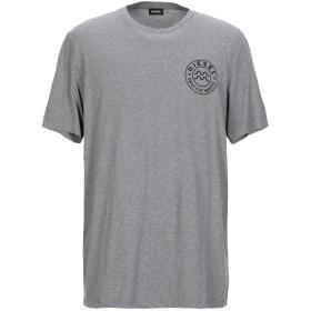 《期間限定 セール開催中》DIESEL メンズ T シャツ グレー L コットン 100%