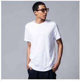 リーバイス スリム2パックTシャツ WHITE + メンズ NEUTRALS S- 【Levi's】