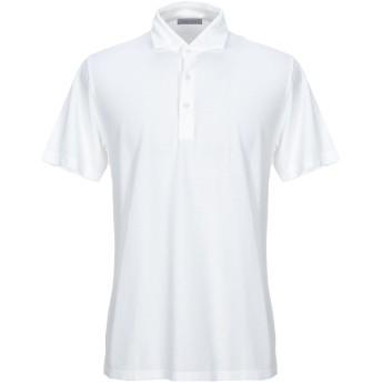《期間限定セール開催中!》GRAN SASSO メンズ ポロシャツ アイボリー 54 コットン 100%