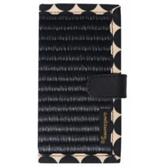 [メール便で送料180円]アムツムグ iPhoneケースSE/5/5S 黒 ドットブラック H01-25-00106