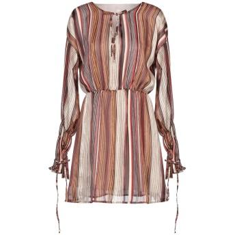 《セール開催中》SOUVENIR レディース ミニワンピース&ドレス モーブ S ポリエステル 100%