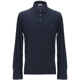 《セール開催中》BROOKSFIELD メンズ ポロシャツ ダークブルー 48 コットン 100%