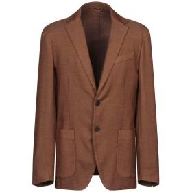 《期間限定セール開催中!》ALTEA メンズ テーラードジャケット キャメル 52 ウール 82% / シルク 12% / ナイロン 5% / ポリウレタン 1%
