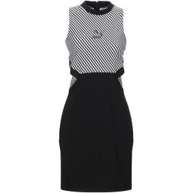 《セール開催中》PUMA レディース ミニワンピース&ドレス ブラック XS コットン 95% / ポリウレタン 5%