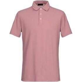《期間限定セール開催中!》ALTEA メンズ ポロシャツ パステルピンク M コットン 100%