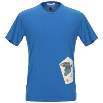 《期間限定セール開催中!》GREY DANIELE ALESSANDRINI メンズ T シャツ アジュールブルー M コットン 100%