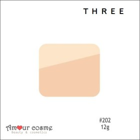 THREE/スリー プリスティーンコンプレクションパウダーファンデーション リフィル #202 (4562248594599) T2Y1HV