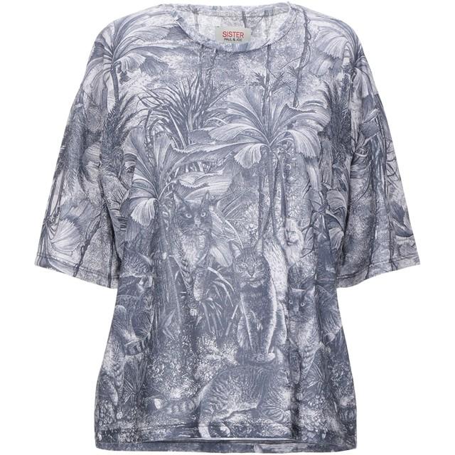 《セール開催中》PAUL & JOE SISTER レディース T シャツ ブルー 0 ポリエステル 100%