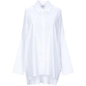 《セール開催中》ANNARITA N TWENTY 4H レディース シャツ ホワイト 38 コットン 72% / ナイロン 25% / ポリウレタン 3%