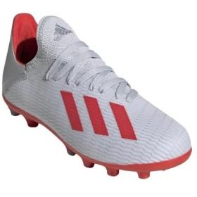 アディダス(adidas) キッズ サッカースパイク エックス 19.3-ジャパン HG/AG J シルバーメット/ハイレゾレッド/ホワイト 189 GNH24 EF9106 ジュニア 子供