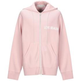 《セール開催中》GOLDEN GOOSE DELUXE BRAND メンズ スウェットシャツ ピンク XXS コットン 100%