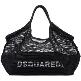《期間限定セール開催中!》DSQUARED2 レディース 肩掛けバッグ ブラック ポリエステル 100%