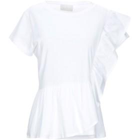 《セール開催中》GOTHA レディース T シャツ ホワイト S コットン 100%