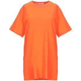 《期間限定セール開催中!》NINEMINUTES レディース T シャツ オレンジ S コットン 100%