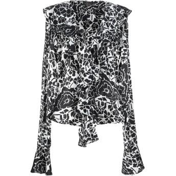 《セール開催中》DE LA VALI レディース シャツ ブラック 6 シルク 100%