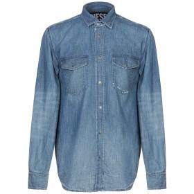《セール開催中》DIESEL メンズ デニムシャツ ブルー S コットン 100%