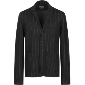 《期間限定 セール開催中》MAJESTIC FILATURES メンズ テーラードジャケット ブラック M ウール 67% / コットン 33%