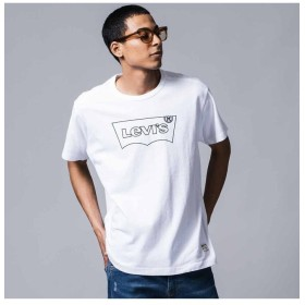 リーバイス グラフィックTシャツ MIGHTY MADE T2 WHITE メンズ NEUTRALS XL- 【Levi's】