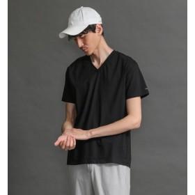 【ラブレス/LOVELESS】 【LOVELESS】MEN はっ水コットンVネックTシャツ