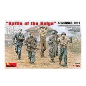 1/35 バルジの戦いアルデンヌ1944フィギュア5体入り MA35084 プラモデル[MIN35084]