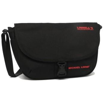 マイケルリンネル バッグ MICHAEL LINNELL MLCDー900 MLCDライン Flap Shoulder レディース ショルダーバッグ Black Red 黒