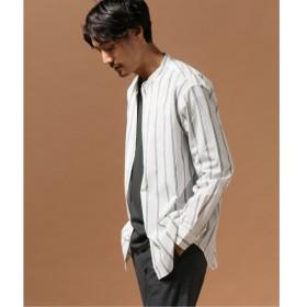 [マルイ]【セール】メンズシャツ(バンドカラー ストライプ ボックスシルエットシャツ)/ジャーナルスタンダード(メンズ)(JOURNAL STANDARD MEN'S)