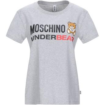 《セール開催中》MOSCHINO レディース アンダーTシャツ グレー XS コットン 92% / ポリウレタン 8%