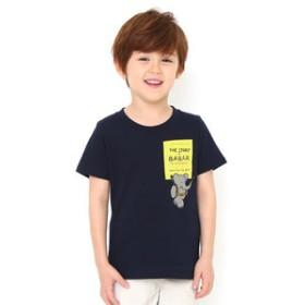 【グラニフ:トップス】キッズTシャツ/ぞうのババールエンブロイダリー(ぞうのババールショートスリーブティー)
