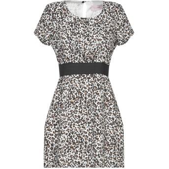 《セール開催中》TWENTY EASY by KAOS レディース ミニワンピース&ドレス ホワイト 42 ポリエステル 100%