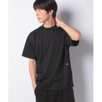 (koe/コエ)ハイゲージポンチプリントTEE/メンズ ブラック